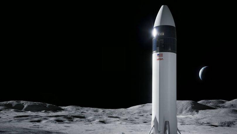 SpaceX va duce următorii oameni pe Lună: Când ar putea avea loc misiunea