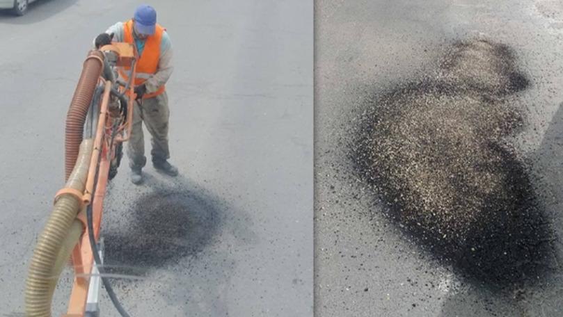 Probleme cu asfaltarea la Chișinău: Cum sunt plombate gropile străzilor