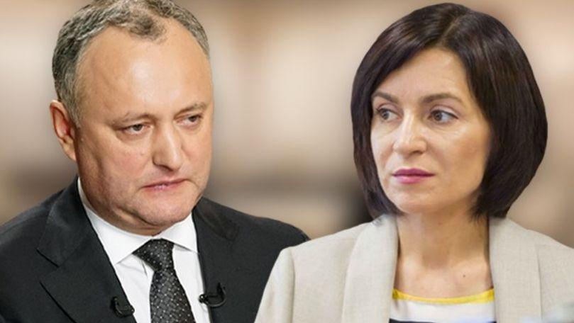 Maia Sandu îl cheamă din nou la dezbateri pe Igor Dodon