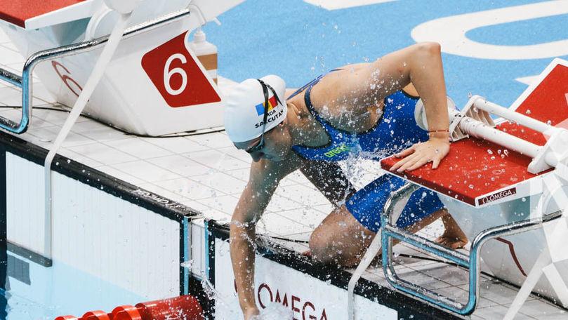 Înotătoarea Tatiana Salcuțan și-a încheiat evoluția la JO de la Tokyo