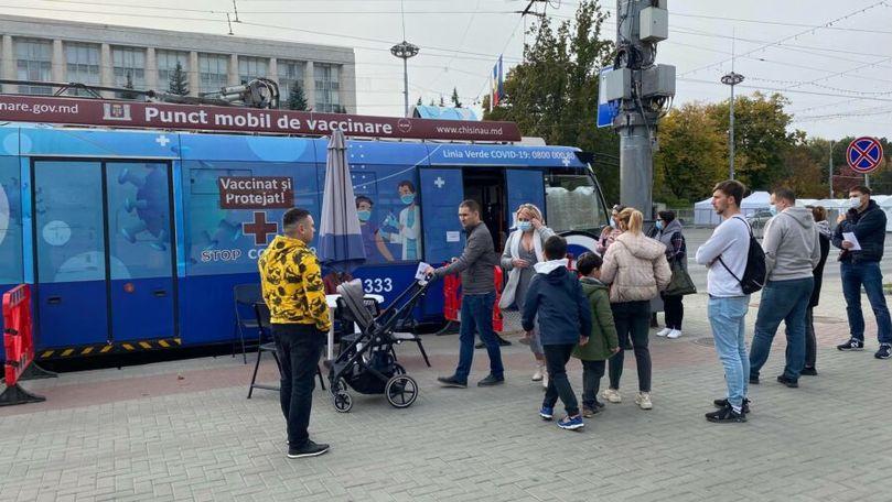 Ziua Orașului: Cetățenii au format cozi pentru a se vaccina anti-COVID