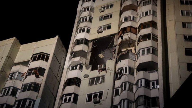 Date oficiale: 3 morți în explozia din Chișinău. Mărturiile locatarilor