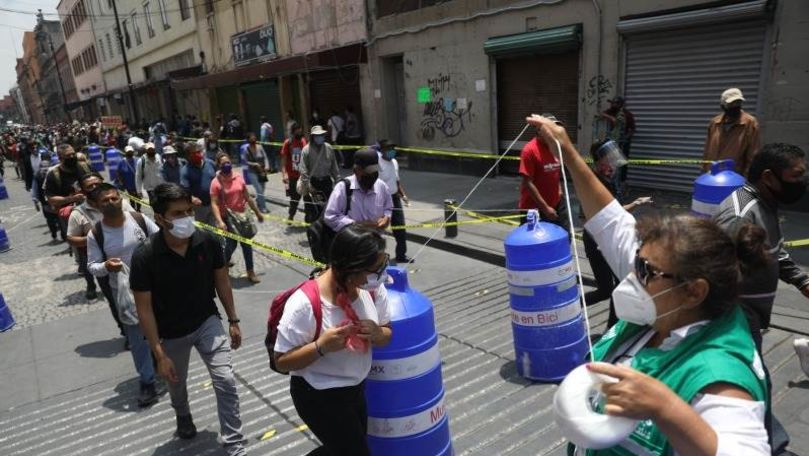 Coronavirus: Un nou anti-record de contaminări în Mexic