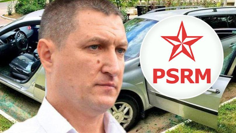 Mașina unui socialist, vandalizată la Căușeni: Reacția PSRM