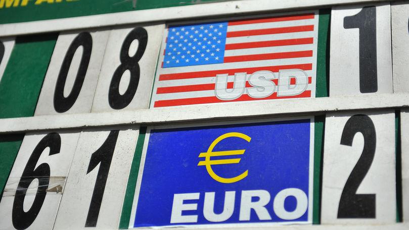 Curs valutar 23 septembrie 2021: Cât valorează un euro și un dolar