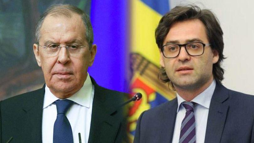 Lavrov anunță că Popescu va merge la Moscova în luna noiembrie
