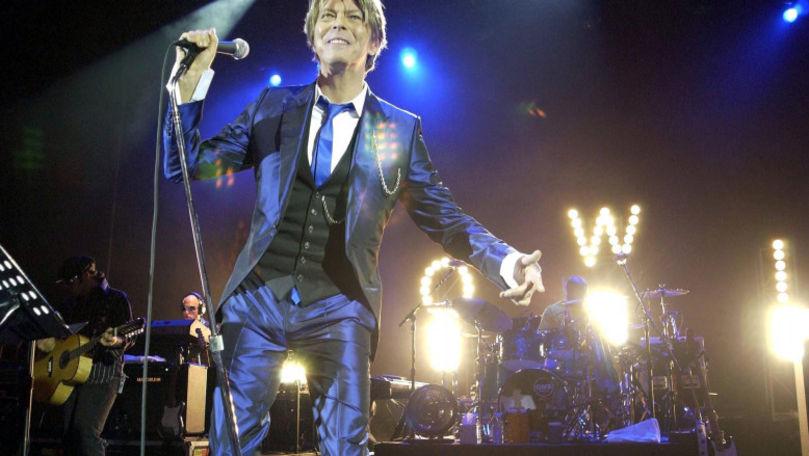 Un nou album al lui David Bowie, nelansat oficial, va fi scos pe piață