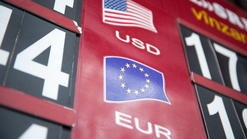 Curs valutar 4 octombrie 2021: Cât valorează un euro și un dolar