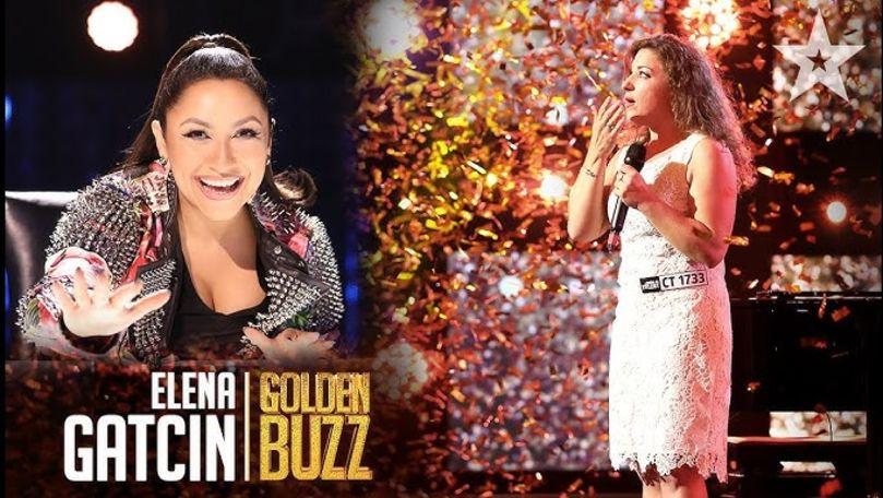 O moldoveancă a luat ultimul Golden Buzz la Românii au talent