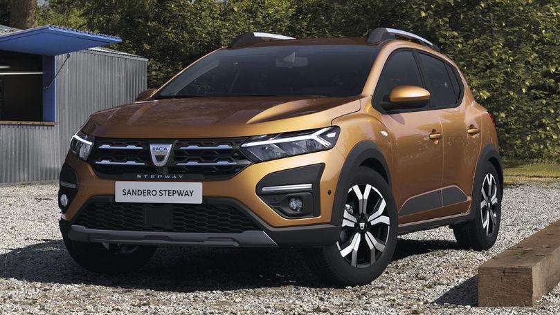 Dacia Sandero a fost cea mai vândută mașină din Europa în luna iulie