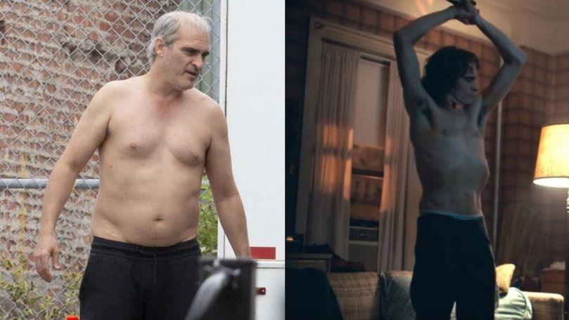 Joaquin Phoenix a adăugat pentru un rol: A slăbit 20 de kg pentru Joker