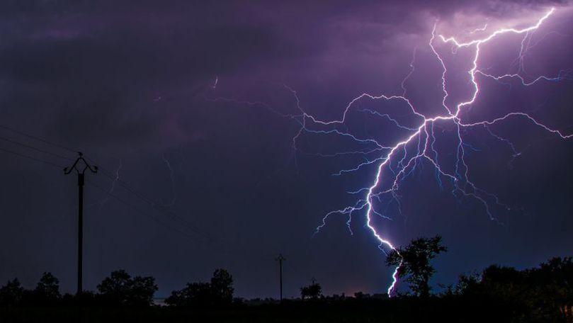 Meteo 4 iulie 2021: Ploi cu fulgere în nordul țării. Maximele prognozate
