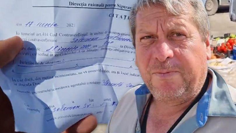Fermieri din Hâncești, amendați pentru că vând castraveți de casă