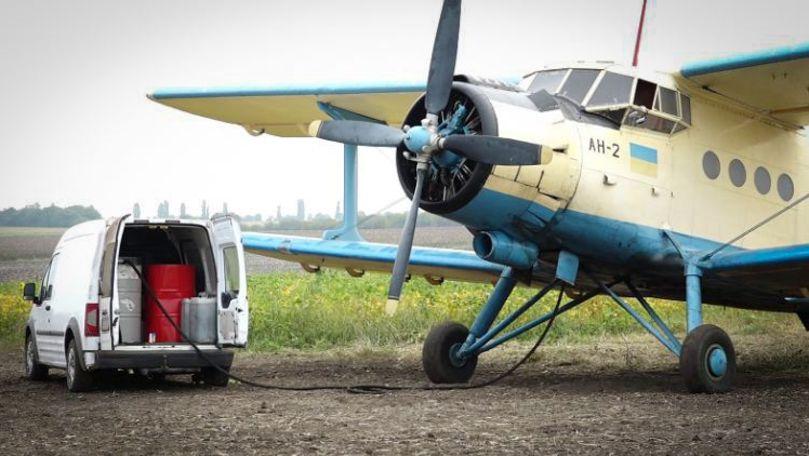Frică în satul unde era avionul. Localnic: Sunt implicați oameni serioși