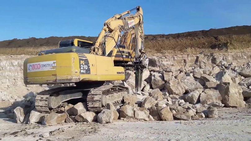Tranzacția săptămânii: O carieră de piatră vândută cu peste 70 milioane de lei