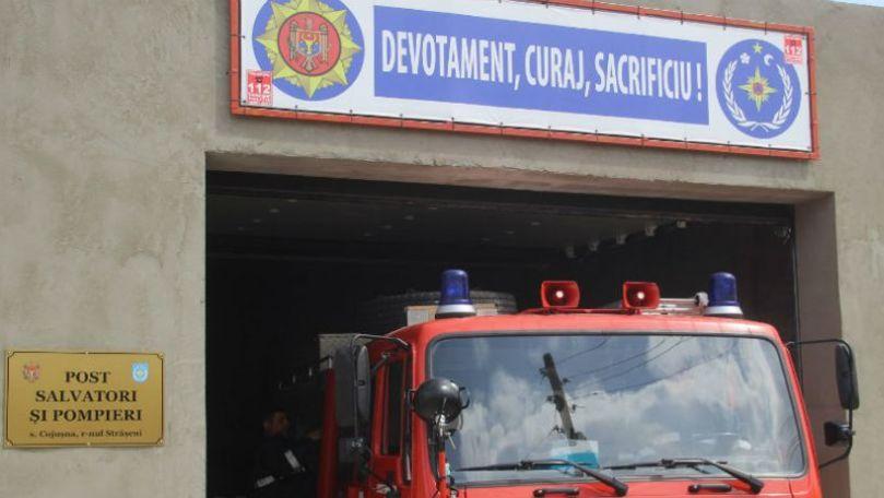 Un post de salvatori şi pompieri voluntari, inaugurat la Cojuşna