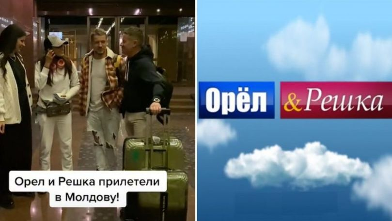 Prezentatorii emisiunii Орел и Решка vor filma o nouă ediție în Moldova