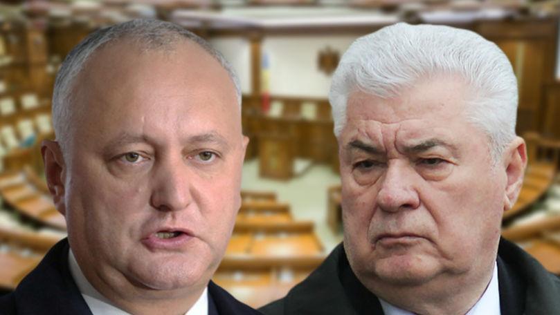 Voronin se aliază cu Dodon: Decizia luată de Comitetul Central al PCRM