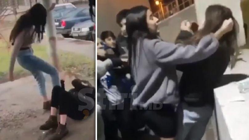 Bătaia de la Ciocana cu adolescente: Cine sunt agresoarele