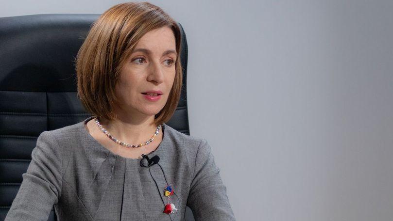 Prima întrebare pentru Maia Sandu primită la Bruxelles: Mi-e rușine