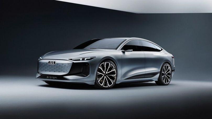 Audi prezintă conceptul electric A6 e-tron: Autonomie de peste 700 km