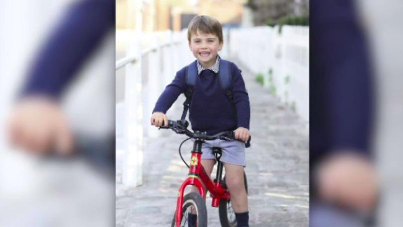 Prințul Louis a împlinit 3 ani: Poza publicată de părinții săi