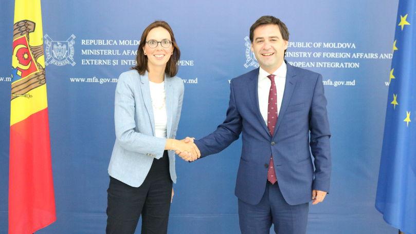 Nicu Popescu și Amélie de Montchalin au lansat o declarație comună