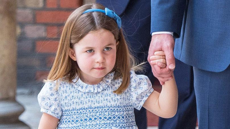 Prințesa Charlotte împlinește 6 ani. Familia regală a postat o fotografie