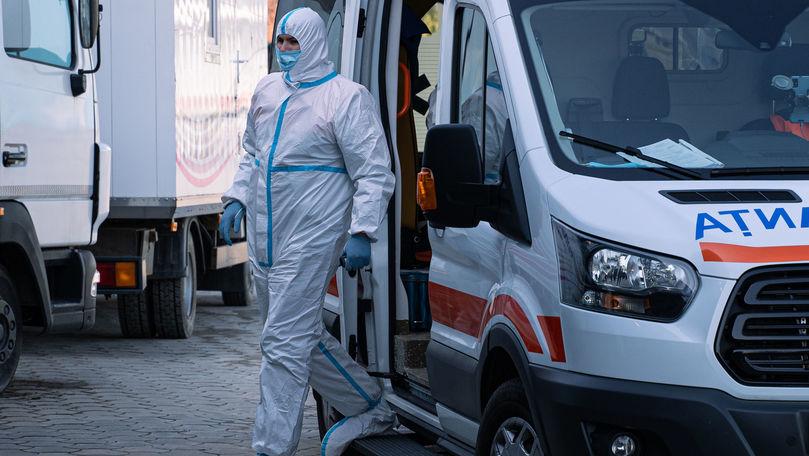 Scad cazurile active în Moldova: 57 de pacienți sunt intubați