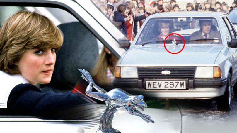 Mașina prințesei Diana primită de la prințul Charles va fi vândută