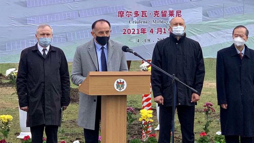 Construcția unui Parc Fotovoltaic a început la Criuleni