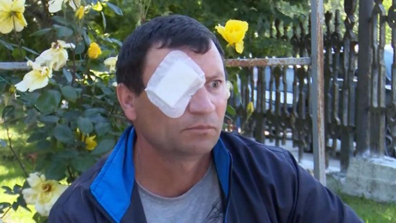 Un bărbat a rămas fără vedere, după ce i-a fost operat ochiul sănătos