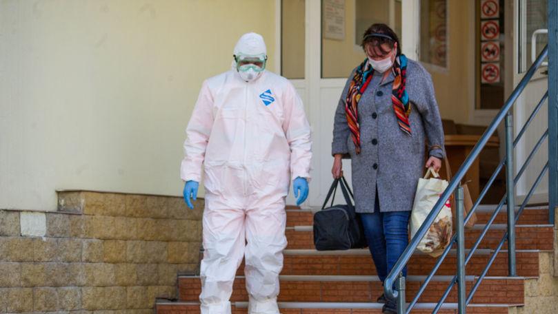 Câți pacienți vindecați de COVID în Moldova au fost externați într-o zi