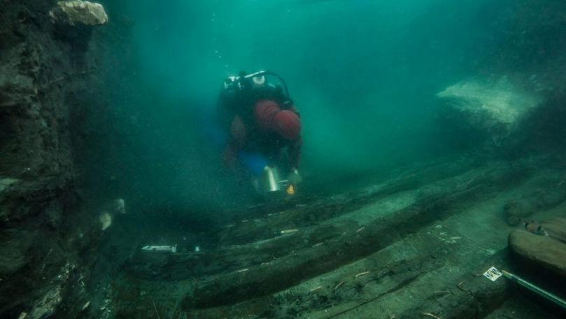 Corabie militară antică şi morminte, descoperite într-un oraș scufundat