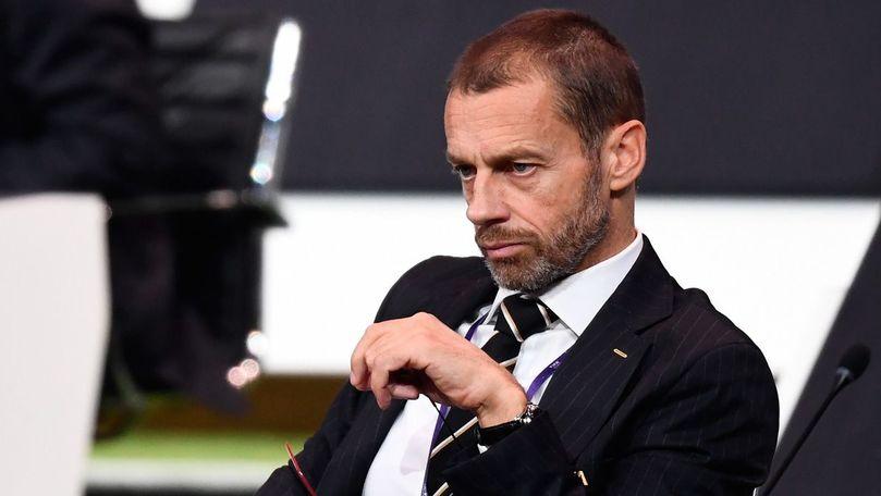 Superliga: Şeful UEFA spune cine e omul care a trădat din interior