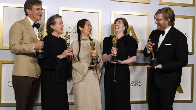 Oscar 2021: Nomadland, cel mai bun film. Lista completă a câștigătorilor