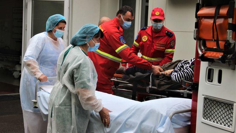 Intervenție SMURD: O femeie a fost adusă în R. Moldova din Rusia
