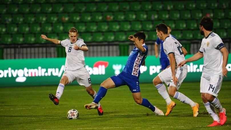 Naționala Moldovei a pierdut meciul amical cu Turcia