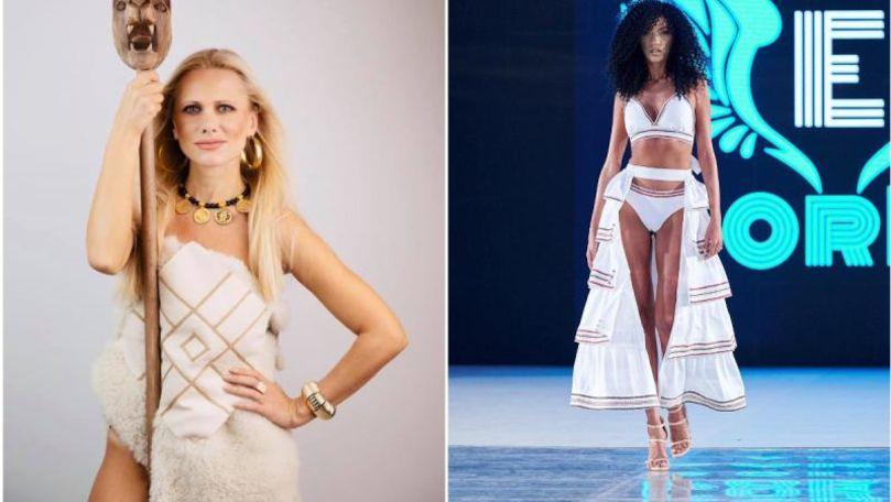 O designeră moldoveancă a deschis Săptămâna modei de la București