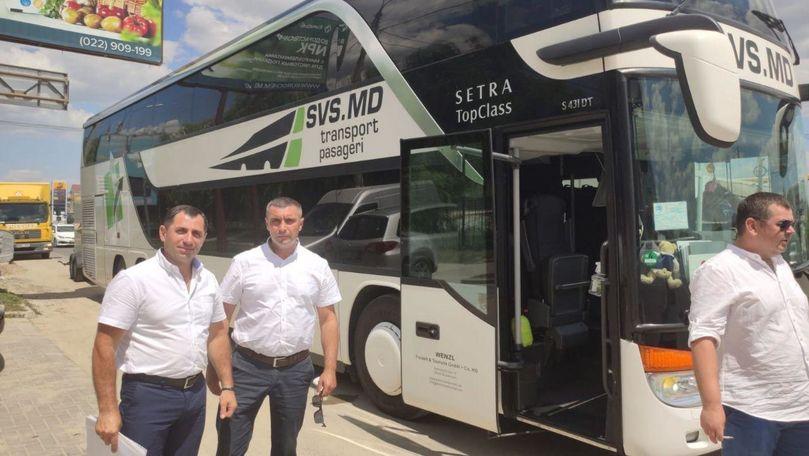 Autobuz cu turiști moldoveni, blocat în Bulgaria