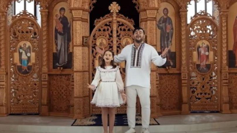 Duet emoționant: Valentin și Amelia Uzun au lansat Imnul Învierii