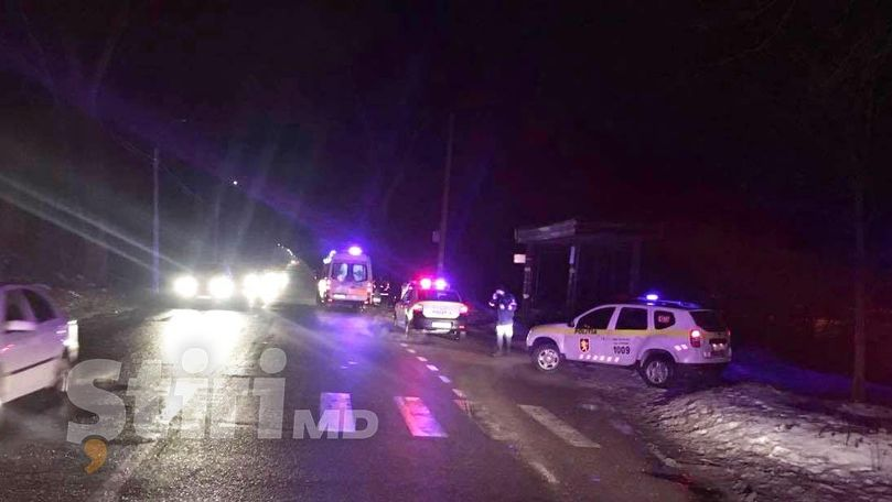Accident grav în Capitală: Un pieton a murit pe loc