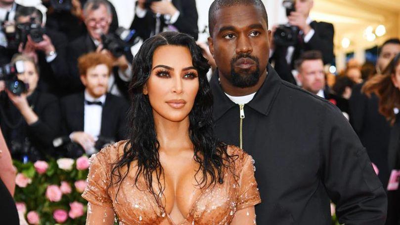Mesajul emoționant transmis de Kim Kardashian lui Kanye West de ziua lui