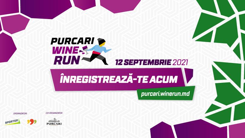 Purcari Wine Run 2021: Start înregistrării la cursa prin podgorii Ⓟ