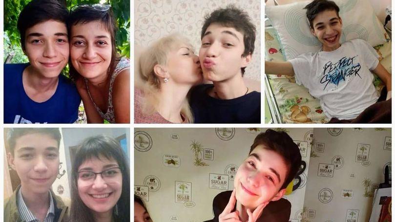 Un tânăr de 18 ani din Capitală, diagnosticat cu o boală gravă, cere ajutor