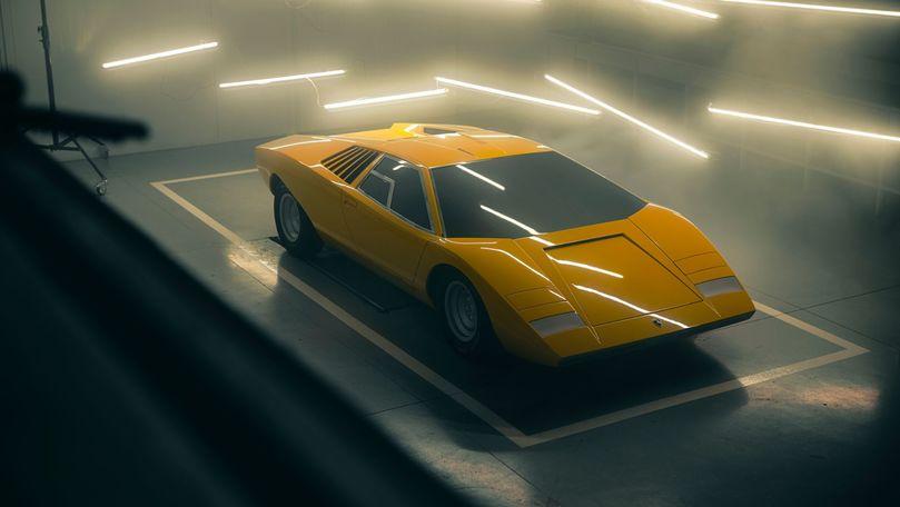 Lamborghini a recreat conceptul din care s-a născut Countach