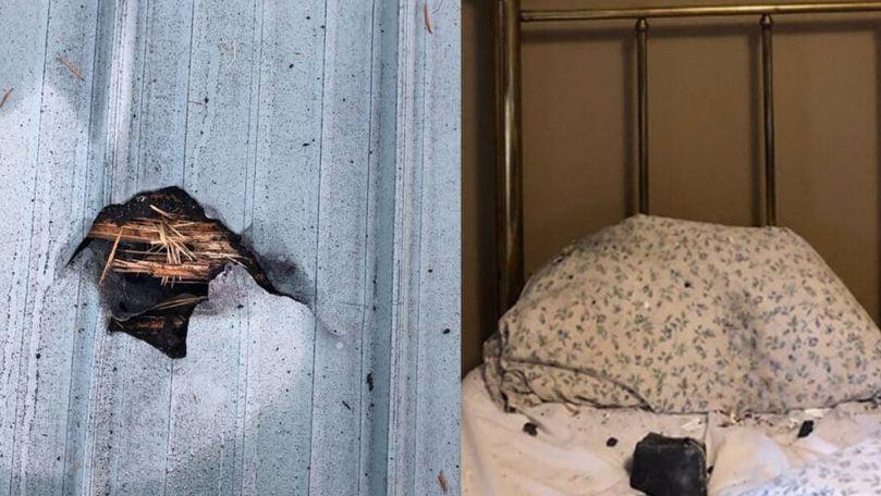 O locuitoare din Canada, trezită de un meteorit care a căzut pe perna sa