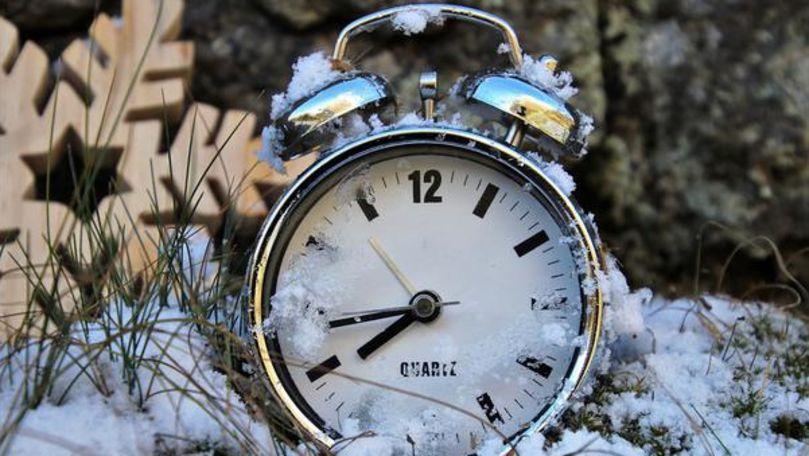Ora de iarnă: Dăm ceasul înapoi pe 27 octombrie 2019