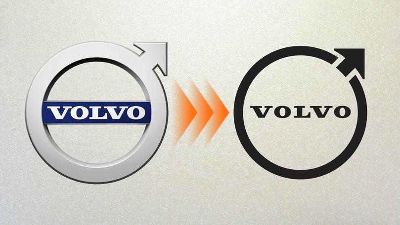 Volvo şi-a schimbat sigla fără să facă tam-tam
