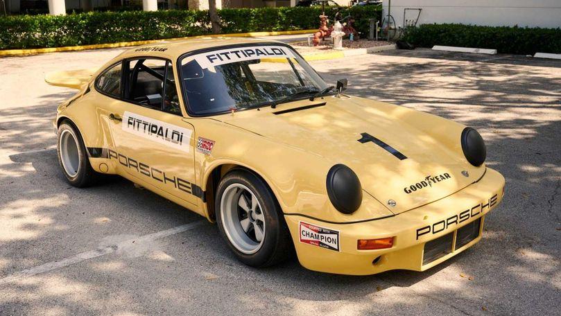 Un Porsche 911 care i-a aparținut lui Pablo Escobar este scos la vânzare